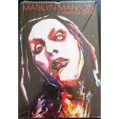 Calendrier vintage Marilyn Manson 2006