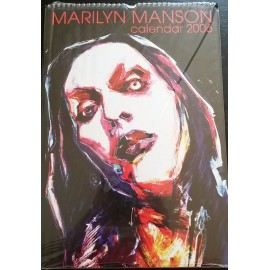 Marilyn Manson Collectable Calendar 2006