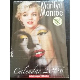 Marilyn Monroe Collectable Calendar 2006