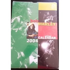 Calendrier vintage Bob Marley 2004 officiel