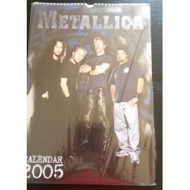Metallica Collectable Calendar 2005