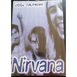 Nirvana Collectable Calendar 2002