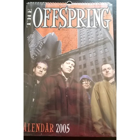 Offspring Collectable Calendar 2005