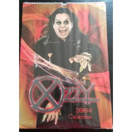 Ozzy Osbourne Collectable Calendar 2004