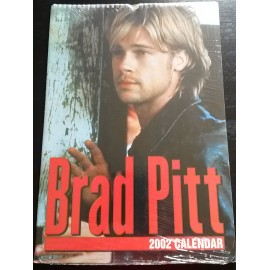 Brad Pitt Collectable Calendar 2002