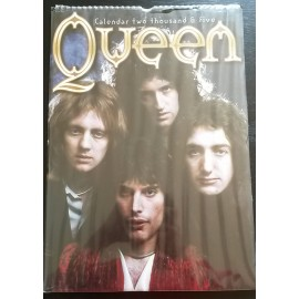 Queen Collectable Calendar 2005