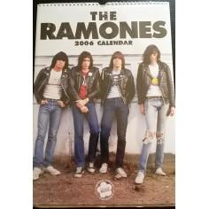 Calendrier vintage Ramones 2006