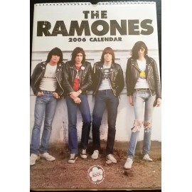 Ramones Collectable Calendar 2006