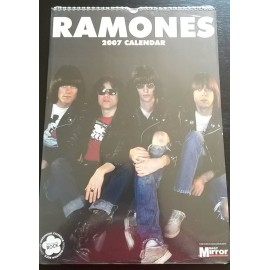 Ramones Collectable Calendar 2007