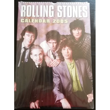 Rolling Stones Collectable Calendar 2005