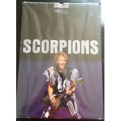 Calendrier vintage Scorpions 1994