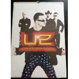 U2 Collectable Calendar 2003