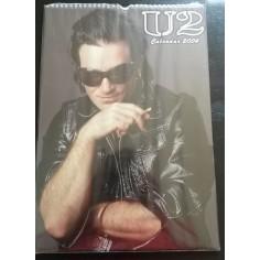 Calendrier vintage U2 2004