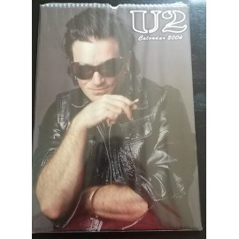 U2 Collectable Calendar 2004
