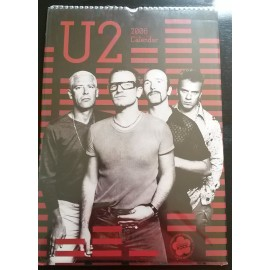 U2 Collectable Calendar 2006