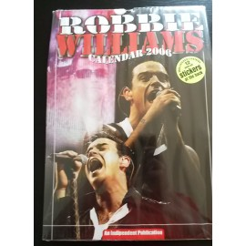 Robbie Williams Collectable Calendar 2006