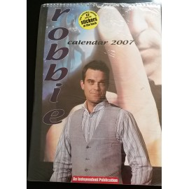 Robbie Williams Collectable Calendar 2007