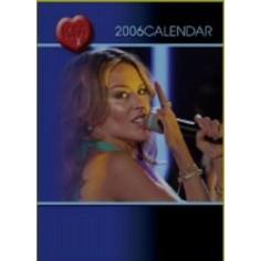 Calendrier vintage Kylie Minogue 2006