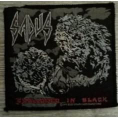 Ecusson Sadus - Swallowed in black