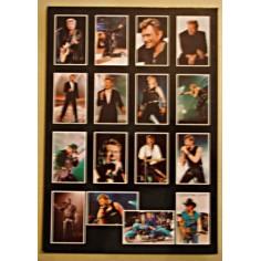 Postcard Johnny Hallyday