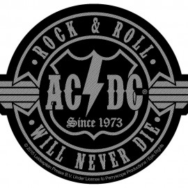 Patch AC/DC - Rock n Roll will never die