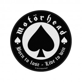 Patch Motörhead - Born to Lose Live to Win