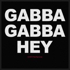 Patch Ramones - Gabba Gabba Hey