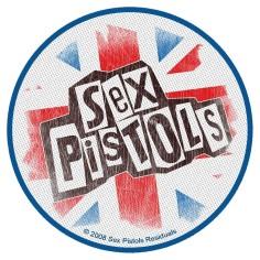 Patch Sex Pistols - Logo Union Jack
