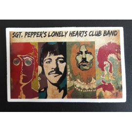 Sticker Beatles - Sgt Pepper
