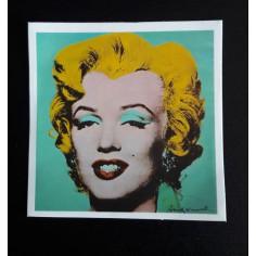 Sticker Marilyn Monroe by Warhol