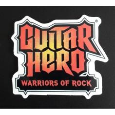 Sticker Guitar Hero - Warriors of Rock