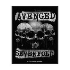 Patch Avenged Sevenfold - 3 skulls