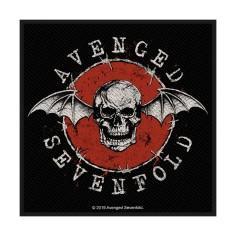 Patch Avenged Sevenfold - Bat logo