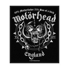 Patch Motörhead - England 49-51