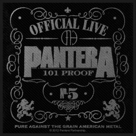 Patch Pantera - 101 Proof
