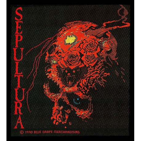 Patch Sepultura - Beneath the Remains