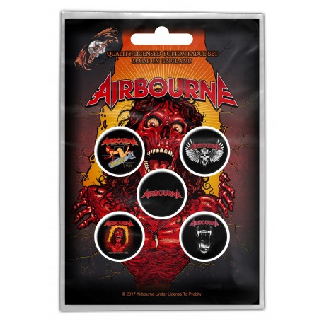 Badge Airbourne (set of 5)