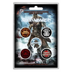 Badge Amon Amarth (set of 5)