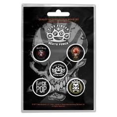 Badge Five Finger Death Punch (set of 5)