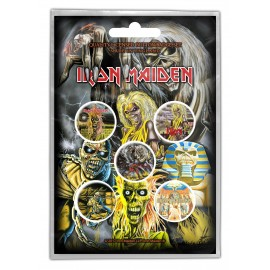 Badge Iron Maiden (set of 5) [Piece]