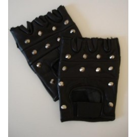 Pair of spiked gloves