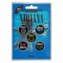 Badge Nirvana (set of 5)