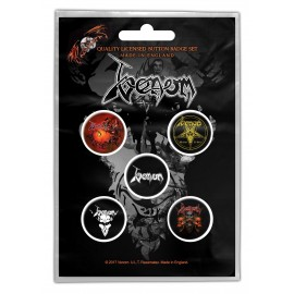 Badge Venom (set of 5)