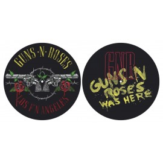 Turntable slipmat Guns n Roses (set of 2)