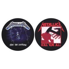Turntable slipmat Metallica (set of 2) [Ride/Kill]