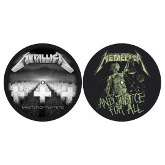 Turntable slipmat Metallica (set of 2) [Master/Justice]