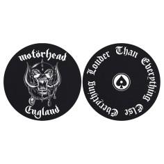 Turntable slipmat Motorhead (set of 2) [England]