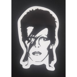 Sticker David Bowie - Aladdin Sane