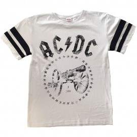 T-shirt AC/DC - For those about to Rock [Football style]