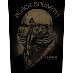 Patch Black Sabbath - US tour '78 [Backpatch]